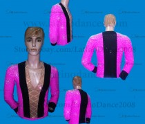 MEN'S LATIN VEST/COAT/ BODY. DB 147