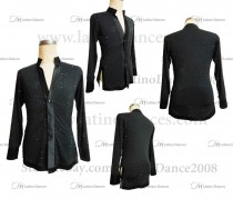 MEN'S LATIN VEST/COAT/ BODY. DB 157