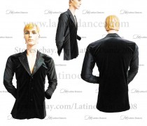 MEN'S LATIN VEST/COAT/ BODY. DB 161
