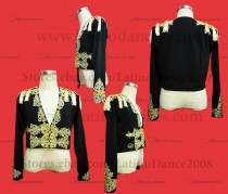 MEN'S LATIN VEST/COAT/ BODY. DB 188