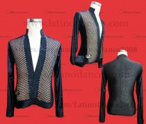 MEN'S LATIN VEST/COAT/ BODY. DB 192
