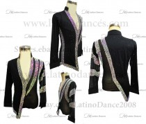 MEN'S LATIN VEST/COAT/ BODY. DB 171