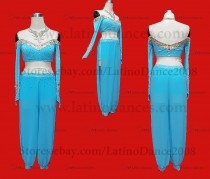 JUMPSUITS LATIN SALSA WITH HIGH QUALITY STONES J21