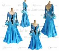 BALLROOM / STANDARD DRESS WITH HIGH QUALITY STONES. ST336
