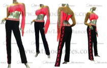 JUMPSUITS LATIN SALSA  WITH HIGH QUALITY STONES J5