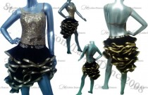 LATIN SALSA DANCE COMPETITION WITH HIGH QUALITY STONES M114