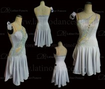Latin  Dance Tailored Dress With High Quality stones M565