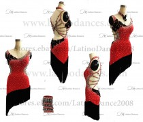 Latin  Dance Tailored Dress With High Quality stones M566