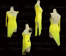 Latin  Dance Tailored Dress With High Quality stones M579