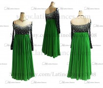 Ballroom Dance Tailored Smooth Dress High Quality stones ST296