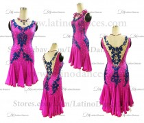Latin  Dance Tailored Dress With High Quality stones M592