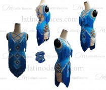 Couture made to order for dancesport dresses M681