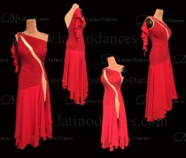 STANDAR/ SMOOTH/ BALLROOM DRESS WITH QUALITY STONES ST342