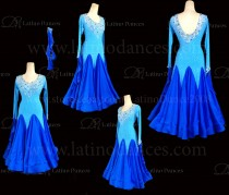 Ballroom Competition Smooth Dance Tailored Dress With High Quality stones ST220B
