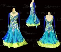 Ballroom Competition Smooth Dance Tailored Dress With High Quality stones ST223B