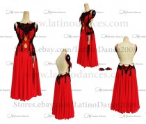 Latin Paso Dance Tailored Dress With High Quality stones M504