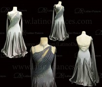Ballroom Competition Smooth Dance Tailored Dress With High Quality stones ST267