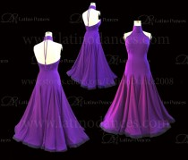 Ballroom Competition Smooth Dance Tailored Dress ST276