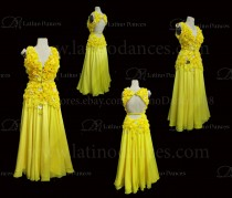 Ballroom Competition Smooth Dance Tailored Dress With High Quality stones ST284