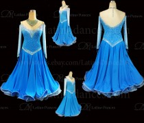 Ballroom Competition Smooth Dance Tailored Dress With High Quality stones ST286