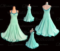 Ballroom Competition Smooth Dance Tailored Dress With High Quality stones ST288