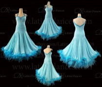 Ballroom Competition Smooth Dance Tailored Dress With High Quality stones ST288B