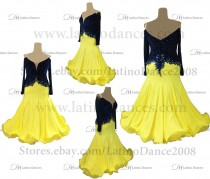 Ballroom Competition Smooth Dance Tailored Dress With High Quality stones ST293