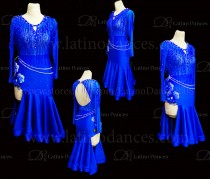 Latin  Dance Tailored Dress With High Quality stones M590