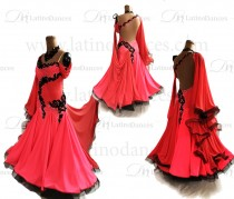 BALLROOM / SMOOTH DRESS WITH HIGH QUALITY STONES ST313