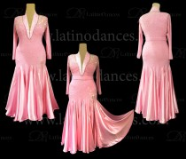 BALLROOM / SMOOTH DRESS WITH HIGH QUALITY STONES ST315