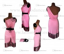 LATIN RHYTHM DRESS WITH HIGH-QUALITY STONES M650