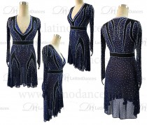 LATIN RHYTHM DRESS WITH HIGH-QUALITY M634