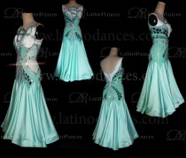 BALLROOM / STANDARD / SMOOTH DRESS WITH QUALITY STONES. ST355