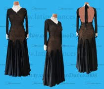 STANDARD / SMOOTH/ BALLROOM DRESS WITH HIGH QUALITY ST350