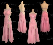 Ballroom standard smooth dance dress stoned competition ST359