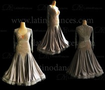 BALLROOM / SMOOTH DRESS WITH HIGH QUALITY STONES ST314B