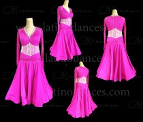 BALLROOM / STANDARD DRESS WITH HIGH QUALITY STONES ST319