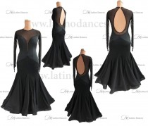 BALLROOM / STANDARD DRESS WITH HIGH QUALITY STONES. ST332