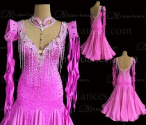 Ballroom Competition Smooth Dance Tailored Dress With High Quality stones ST294
