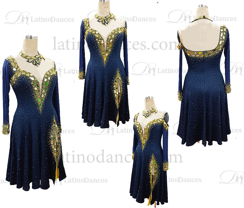 latino dance dress