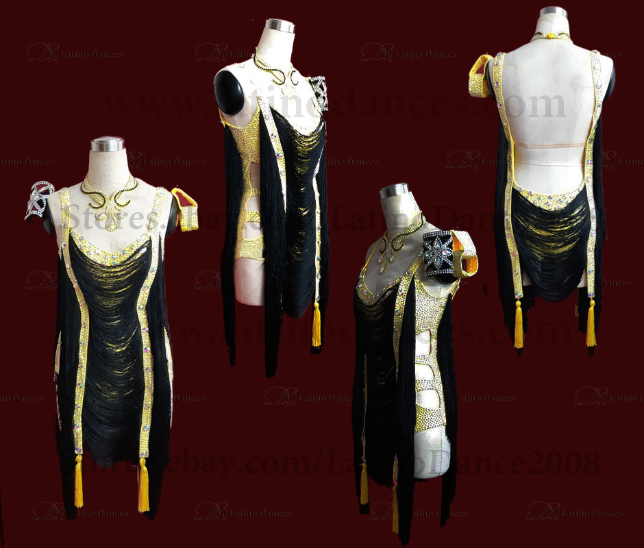 LATIN RHYTHM DANCE DRESSES WITH HIGH QUALITY STONES M615